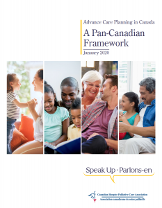 Cover of Advance Care Planning Canada Pan-Canadian Framework